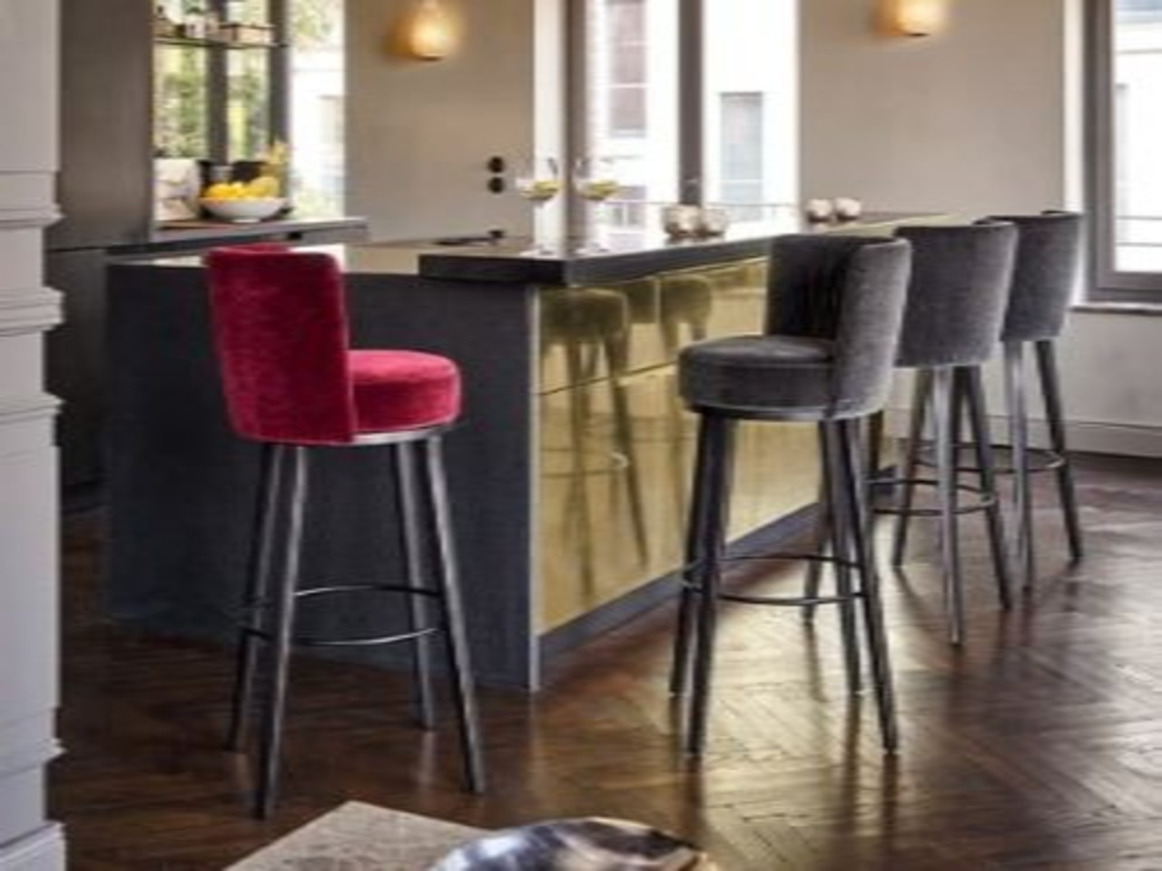 Polo Cocktail Bar Stool